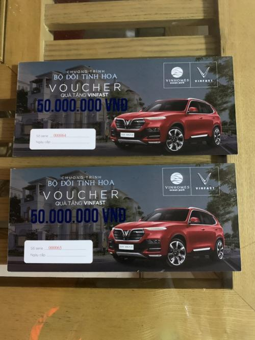 Nhượng lại Voucher mua ô tô